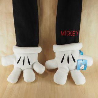 ミッキーの手型の手袋つきマフラー ディズニー(キャラクターグッズ)