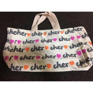 シェル(Cher)のCherのバッグ♡ホワイト(トートバッグ)