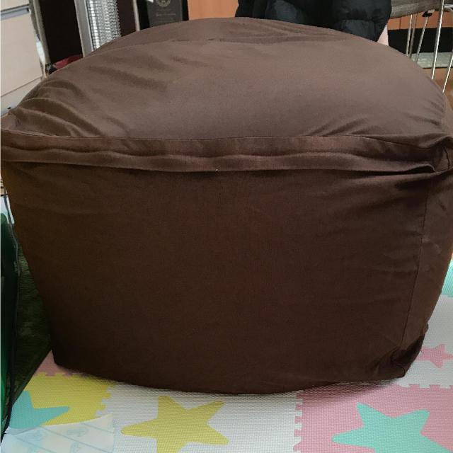 人をダメにするクッション♢無印♢ビーズクッション♢体にフィットするソファ
