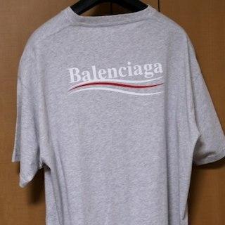 バレンシアガ(Balenciaga)のMサイズ18SS Balenciaga キャンペーンロゴ Tシャツ(その他)