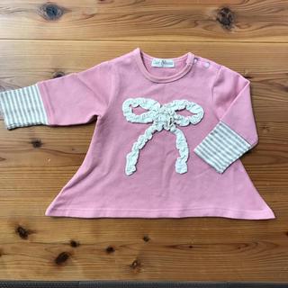 AラインロングTシャツ サイズ80(Tシャツ)