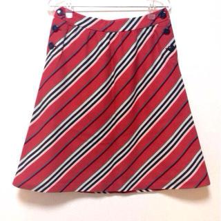 バーバリー(BURBERRY)のバーバリーブルーレーベル☆膝丈スカート(ひざ丈スカート)
