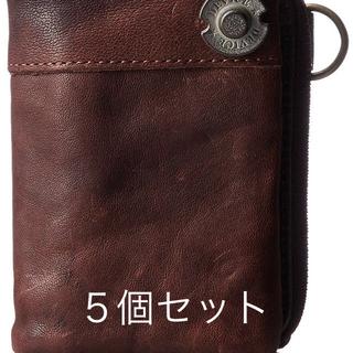 ディバイス(device.)の5個 DEVICE ヴィンテージ 二つ折り 財布(長財布)