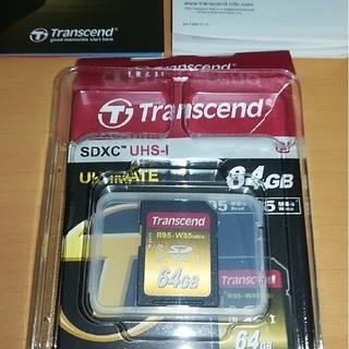 トランセンド(Transcend)の TS64GSDU3X  SDXCカード 64GB UHS-I U3対応 (その他)