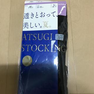 アツギ(Atsugi)のガーターストッキングブラック1枚(タイツ/ストッキング)