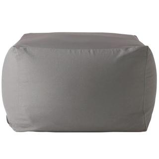ムジルシリョウヒン(MUJI (無印良品))の無印良品 体にフィットするソファ クッション グレー(ビーズソファ/クッションソファ)