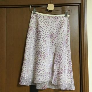 ヨンドシー(4℃)の4℃ 美品スカート(ひざ丈スカート)