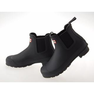 ハンター(HUNTER)のハンター ショートブーツ 黒(レインブーツ/長靴)