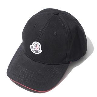 モンクレール(MONCLER)のモンクレール  帽子 ブラック 新品 フリー (キャップ)