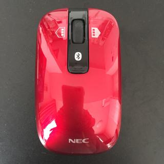 エヌイーシー(NEC)のパソコン ワイヤレスマウス(NEC)(ノートPC)