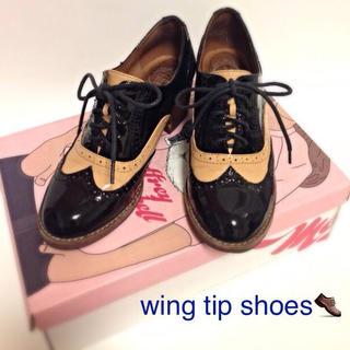ジェフリーキャンベル(JEFFREY CAMPBELL)のウィングチップシューズ(ローファー/革靴)