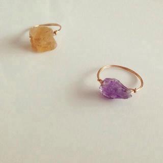 Citrine ring(リング(指輪))