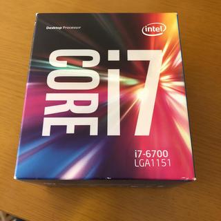 インテレクション(INTELECTION)のIntel i7 6700 LGA1151 中古品 (PCパーツ)
