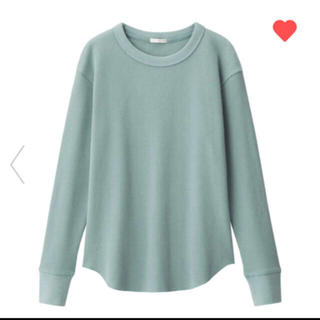 ジーユー(GU)のGU ワッフルT Lサイズ(Tシャツ(長袖/七分))