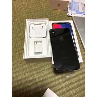 アイフォーン(iPhone)のIphone X (スマートフォン本体)