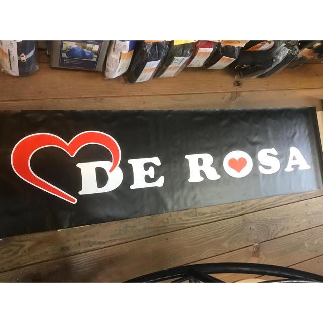 デローザ  フロアーシート 50cm×180cm スポーツ/アウトドアの自転車(その他)の商品写真