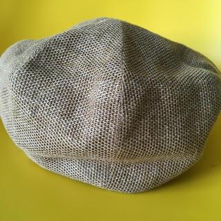カシラ(CA4LA)のカシラ 麻 帽子 (キャスケット)