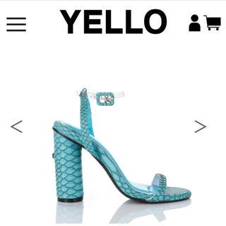 イエローブーツ(Yellow boots)のyello shoes 完売品(サンダル)