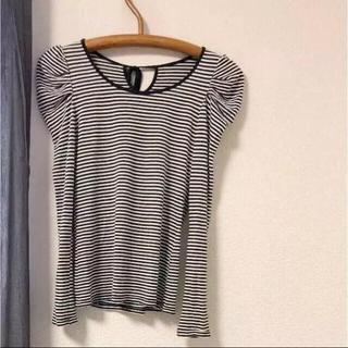 ココディール(COCO DEAL)のココディール   ボーダートップス(Tシャツ(長袖/七分))