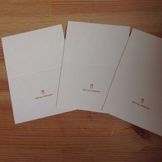 ユナイテッドアローズ(UNITED ARROWS)のユナイテッドアローズ メッセージ カード ギフト プレゼント(その他)