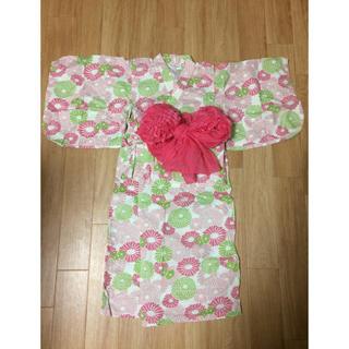 アンパサンド(ampersand)のampersand 浴衣 110 女の子(甚平/浴衣)