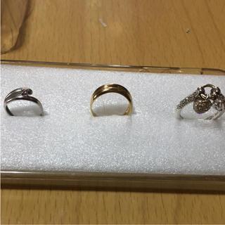 k18.k10.silver(リング(指輪))