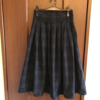 カトー(KATO`)の専用です☆グランマママドーターのブラックウオッチ プリーツスカート(ロングスカート)