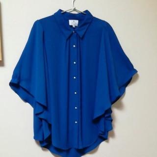 ランバンオンブルー(LANVIN en Bleu)のランバン・オン・ブルー ブラウス(シャツ/ブラウス(長袖/七分))