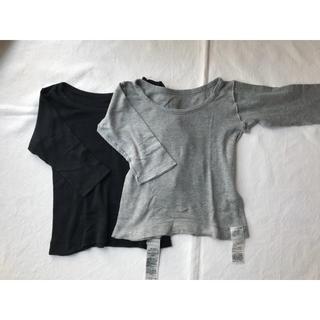 ムジルシリョウヒン(MUJI (無印良品))の無印良品 肌着 長袖 90サイズ 2枚セット(下着)