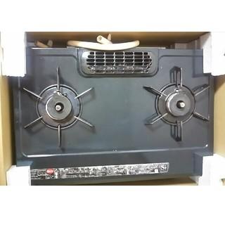 リンナイ(Rinnai)のカーツ☆トーモ様専用!ガスコンロ Rinnai KGE61BL  Siセンサー(調理機器)