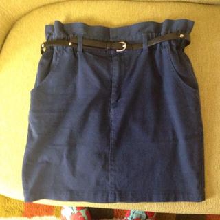ローリーズファーム(LOWRYS FARM)のLOWRYS FARM ベルト付スカート(ミニスカート)