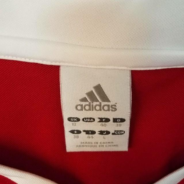 adidas(アディダス)のadidas 赤 タンクトップ スポーツ/アウトドアのテニス(ウェア)の商品写真