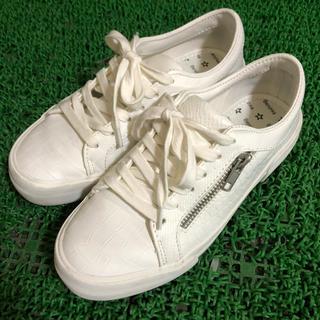 3185b0bd87260c ベルシュカ 靴/シューズ(ホワイト/白色系)の通販 35点 | Bershkaの ...