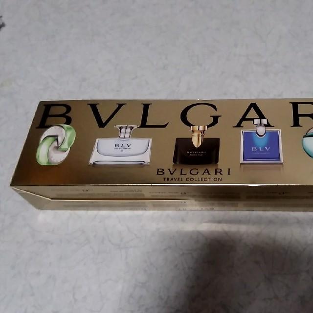 buy popular 92e76 f2467 ブルガリのミニチュア香水トラベルコレクション5mlを5種類   フリマアプリ ラクマ