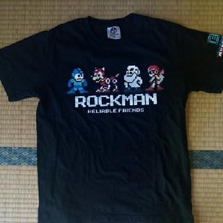 スーパーファミコン(スーパーファミコン)のロックマンTシャツ(Tシャツ/カットソー(半袖/袖なし))