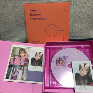 ウェストトゥワイス(Waste(twice))のtwicetagram サナ フォトブック トレカ ステッカー CDセット(K-POP/アジア)