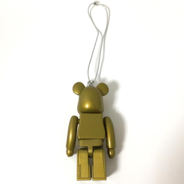 MEDICOM TOY(メディコムトイ)のBE@RBRICK ゴールド ミッキー エンタメ/ホビーのおもちゃ/ぬいぐるみ(キャラクターグッズ)の商品写真
