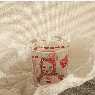 アッシュペーフランス(H.P.FRANCE)のナタリーレテ グラス コップ 2個セット(グラス/カップ)