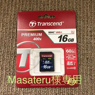 トランセンド(Transcend)のTranscend SDHCカード 16GB(その他)