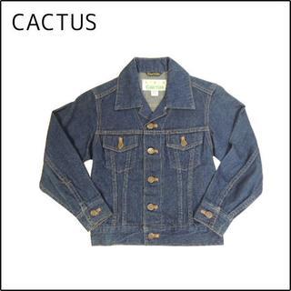 カクタス(CACTUS)の70S CACTUS/カクタス☆デニムジャケット キッズ9号(ジャケット/上着)