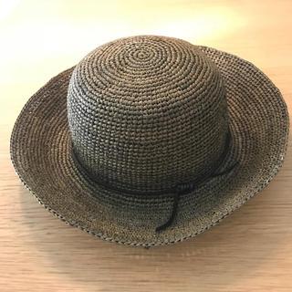 ムジルシリョウヒン(MUJI (無印良品))のストローハット(麦わら帽子/ストローハット)