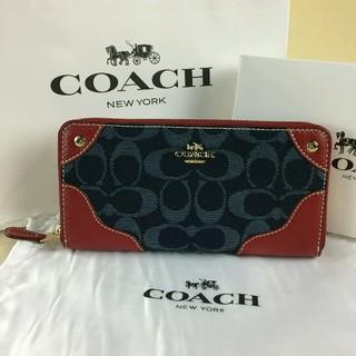 コーチ(COACH)の今だけセール開催中コーチCOACHファスナー長財布F53769/IMNAY(財布)