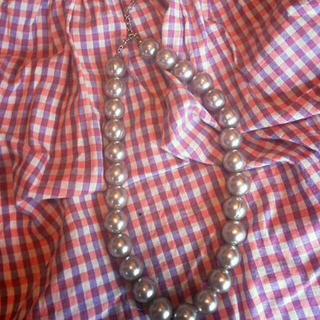 かわいいシルバー色のネックレス(ネックレス)