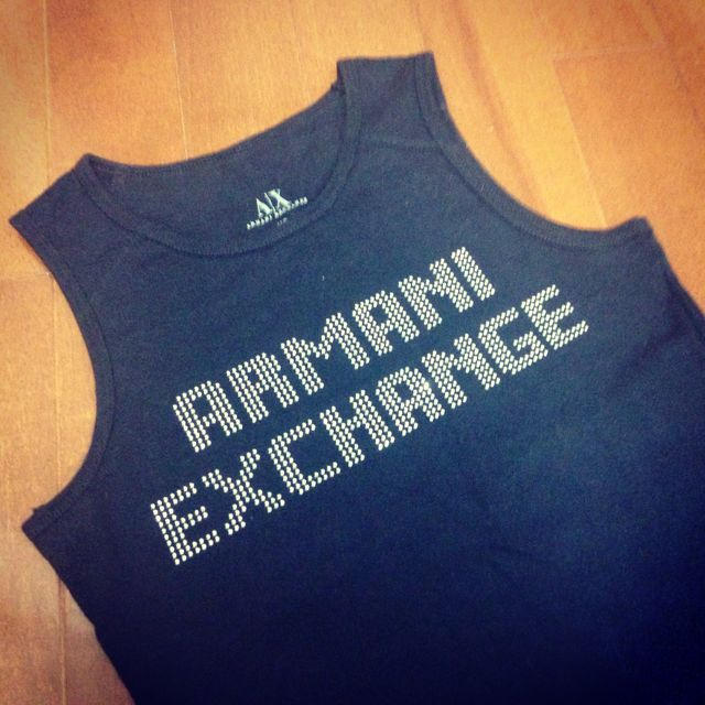 ARMANI EXCHANGE(アルマーニエクスチェンジ)の【激安】ARMANI タンクトップ レディースのトップス(Tシャツ(半袖/袖なし))の商品写真