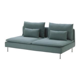 イケア(IKEA)のチャイズ様専用 IKEAソファSODERHAMNターコイズ(三人掛けソファ)