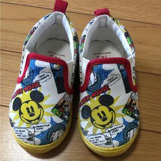 ディズニー(Disney)のスリッポン ミッキー 靴 14 ディズニー(スリッポン)