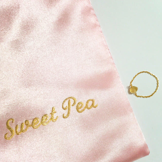 アッシュペーフランス(H.P.FRANCE)の【最終価格】SweetPea ✴︎チェーンリング7号(リング(指輪))
