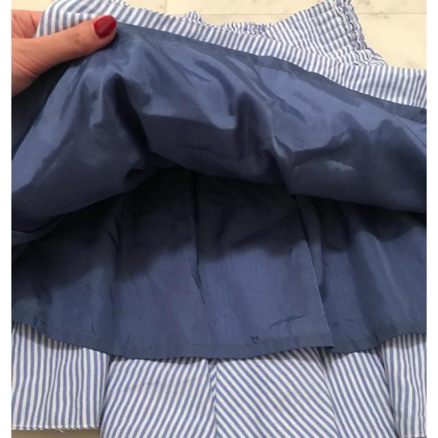 LOWRYS FARM(ローリーズファーム)のLOWRYS FARM ストライプミニスカート レディースのスカート(ミニスカート)の商品写真