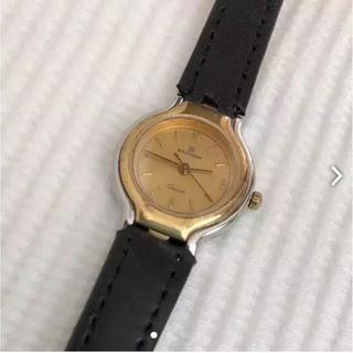 ウォルサム(Waltham)のウォルサム  ビンテージ  ベルト未使用品 レディースクォーツ腕時計 動作OK(腕時計)