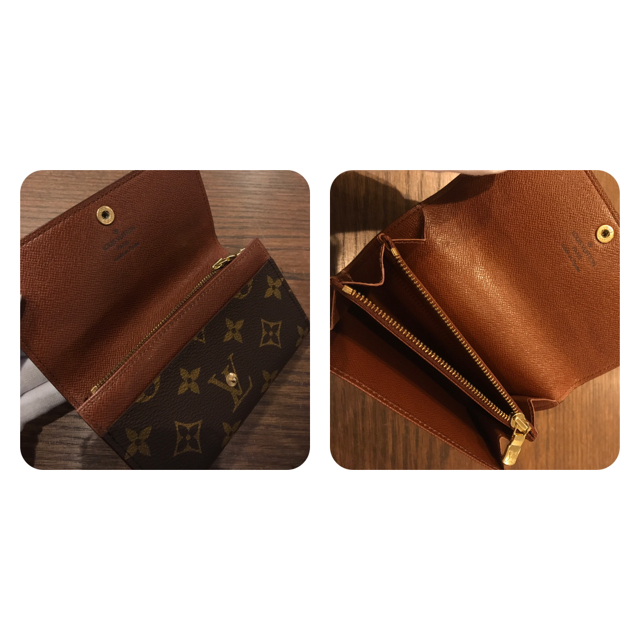 new concept b5bc5 fb67c 【SALE】希少 ルイヴィトン 二つ折り財布 廃盤 モノグラム 0187E1-3